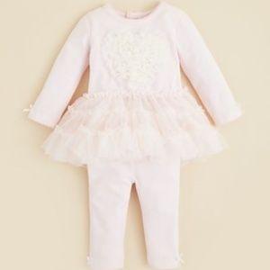 Bloomie's Infant Girls' Heart Tutu Top & Leggings